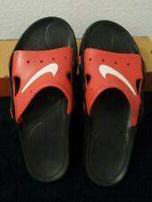 VINTAGE 1998 Nike Mens Soccer Sandal 2 Red White Flip Flop