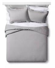 NEW FIELDCREST Lightweight Linen Comforter Set | 3 PC | FULL / QUEEN