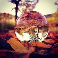 "150MM 5.91"" Clear Quartz Crystal Sphere Glass Balls Paperweight Wedding Decor"