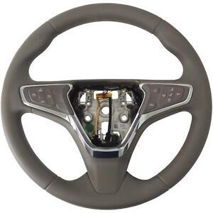 39084128 Steering Wheel Dark Atmosphere Vinyl With Cruise 2016-18 Chevy Cruze
