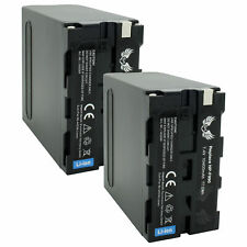 2x SK Akku für Sony NP-F990 | 10400mAh | NP-F750 NP-F960 NP-F970 NP-F980 1060369