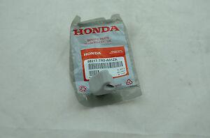 HONDA 88217-TR0-A01ZA GENUINE OEM SUNVISOR CLIP HOLDER LIGHT GRAY VISOR SUN