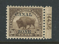 Bigjake: Canal Zone, #79, 30 cent American Bison with overprint - MNH