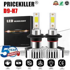 2x H7 LED Headlight KIT Fog Bulb Light Hi/Lo Beam 6000K VS Xenon HID White UK JO