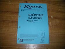 REVUE TECHNIQUE PRO CITROËN XSARA SCHEMATIQUE ELECTRIQUE AUTO ECOLE
