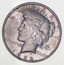 Early - 1922-D - Peace Silver Dollar - 90% US Coin *898