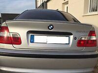 SPOILER BECQUET DE COFFRE M BMW SÉRIE 3 E46 BERLINE PRÊT A PEINDRE 330i 330xi xd