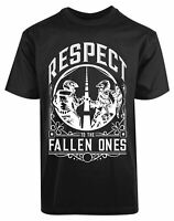 Respect To The Fallen Ones New Men's Shirt Authentic Super Classic Printed Tees