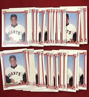 Lot of 50 Willie Mays Story 1984 Renata Galasso Baseball Card # 1 RGI SP98