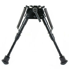 "6"" to 9"" Adjustable Pivot / Rotating Rifle Bipod Harris Style Adjustable Legs"