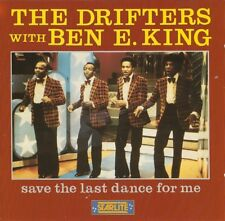 THE DRIFTERS with BEN E.KING (CD ♪♫♪♫) SAVE THE LAST DANCE FOR ME ░▒▓█▄▀▄▀▄▀▄▀