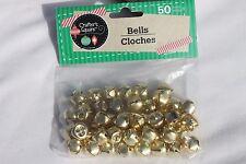 Craft Bells Golden Color Craft Supplies 12mm Bells 50pcs