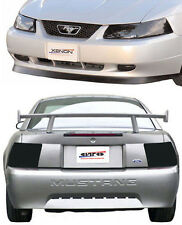 Fits 99-04 Mustang V6 GT Cobra GTS Smoke Acrylic Headlight Taillight Covers 4pc