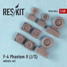 1/48 F-4 Phantom II J/S Wheels for Academy/Eduard/Hasegawa/Italeri/Revell/SWS