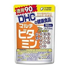 New DHC supplements multi-vitamin 90 days worth 90 Capsules Japan Import