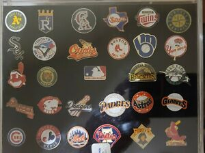 OFFICIAL MAJOR LEAGUE PIN SET - NEW IN BOX!