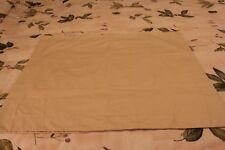 Divatex  Standard Pillow Sham 100% Cotton Pakistan Beige Set of 2 New B3