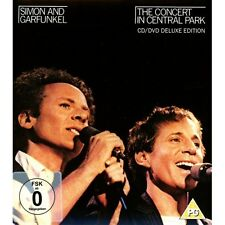 CD SIMON AND GARFUNKEL THE CONCERT IN THE CENTRAL PARK CD/DVD DELUXE EDITION 888