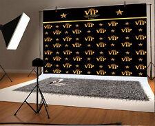 Black Vip Member Studio Props Vinyl Photo Backdrops Photography Background 7x5Ft