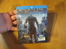 Resident Evil: Apocalypse BLU-RAY STEELBOOK EDITION BEST BUY SOLD OUT NEW