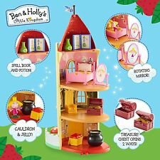 Ben y Holly Kingdom Thistle Castle Juguete Juegp Little y Accesorios Figuras
