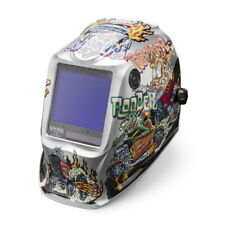 Lincoln Viking 3350 Hot Rodders Auto Darkening Welding Helmet 4C Lens (K4440-4)