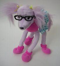 Barbie Poodle Pink Dog Eyeglasses Skirt Plush Stuffed Animal Mattel 2002