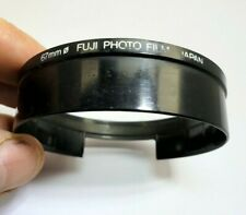 Fuji Photo Film Japan 67 mm lens hood slip-in adapter ring