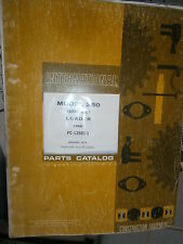 IH International Hough 250 Série C chargeur : parts catalog 1973