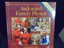 Awkward Family Photos Christmas Puzzle 999 Piece Toy Mini Bonus Game Included