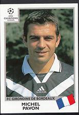 PANINI CALCIO ADESIVO-UEFA CHAMPIONS LEAGUE 1999-00 - N. 266-Bordeaux