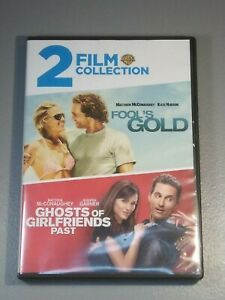 Fools Gold/Ghosts of Girlfriends Past (DVD, 2016) Good Condition