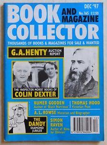 BOOK & MAGAZINE COLLECTOR #165 - 12/1997 - Colin Dexter, The Dandy