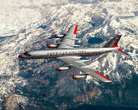 AMERICAN AIRLINES CONVAIR 990 CORONADO 16x20 SILVER HALIDE PHOTO PRINT