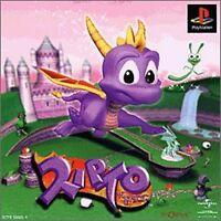 PS1 Spyro the Dragon Japan PS PlayStation 1 F/S