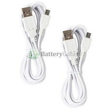 2 NEW USB 6FT Micro Charger Cable for Phone Samsung Galaxy S S2 S3 S4 S5 S6 S7