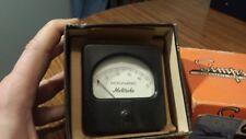 Vintage Motorola Dc Microamperes Meter Measures 0 50 With Box Nos