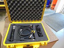Shure SLX4 wireless receiver, sm58 wireless microphone, slx1 mic Hard case