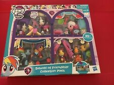 My little pony school of friendship collection pack Indoor Play Pretend Game *