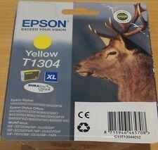 Genuine Epson T1304 XL giallo cartuccia VUOTO SIGILLATO ORIGINAL OEM Stag inchiostro