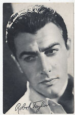 ROBERT TAYLOR - Film Star - Actor - circa 1930s era Cinema postcard