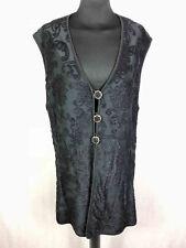 PIERRE CARDIN PARIS Vest Women's Sweater Viscose Woman Waistcoat Sz.XXL - 50