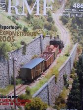 RMF Rail Miniature Flash n°486 2006 Reseau St Frezal De Ventalon  [TR.33]