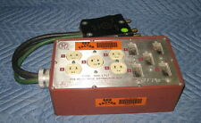 Mole Richardson 100A 100 Amp To Edison Woodhead Gang Box Distro