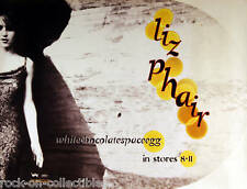 Liz Phair 1998 Whitechocolatespaceegg Original Promo Poster