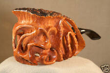 DENNY SOUERS HAND CARVED GRECIAN BRIAR PIPE - #807