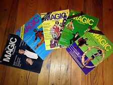 The Magic Magazine / Vintage / Lot de magazines sur la prestidigitation