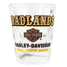 Badlands Harley-Davidson® Western Short Shot Glass