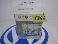 4 Spark Plugs Ignition New Longlife Spark Plug Original VW Golf 3 Bora Seat Leon