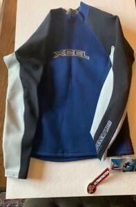 Xcel Asta1.0 x 0.5 mm wetsuit pullover top, drawstring waist, mens XL, new